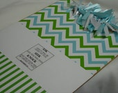 CHRISTIAN CHEVRON CLIPBOARD