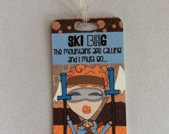 Bag Tag - Ski Bag Tag
