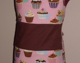 Sweet tooth cupcakes Toddler Chef Apron