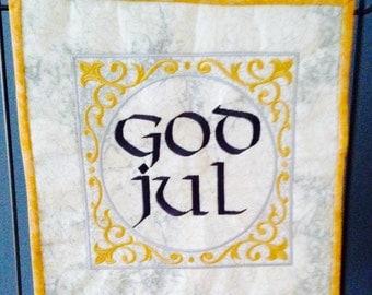 God Jul Mini Quilt SALE