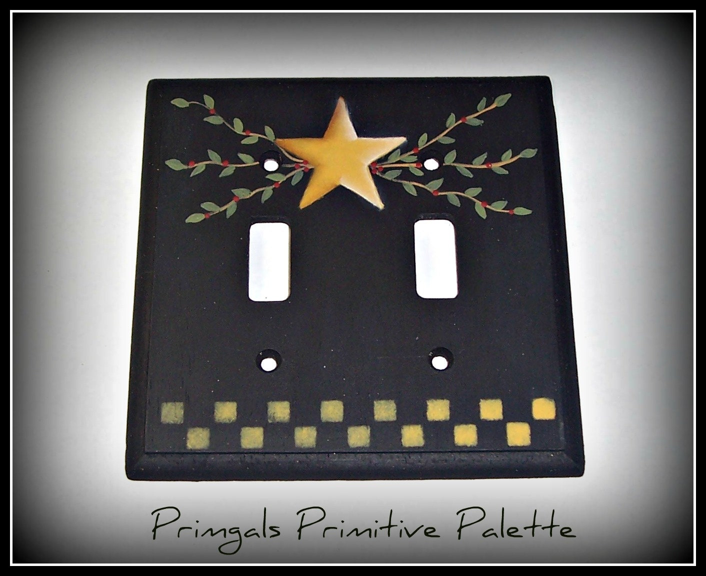 Light Switch Cover Primitive Outlet Switch Plate Home Decor