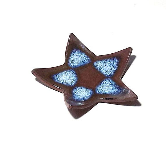 Star Dish Stoneware Pottery