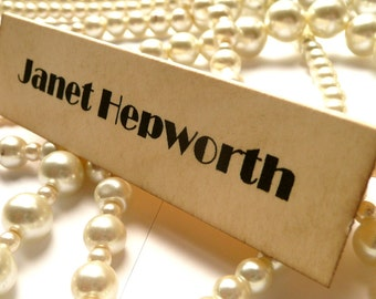 Wedding Place Cards - Vintage Style - Set of 50 - Matching items available