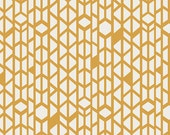 Boho Fabric, Tribal Fabric, Yellow fabric, Arizona fabric by April Rhodes Art Gallery- Canyon Wall- Choose the cut, Free Shipping Available