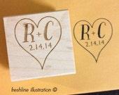 save the date stamp, wedding stamp, custom stamp, custom wedding stamps, favor stamp, rustic wedding decor