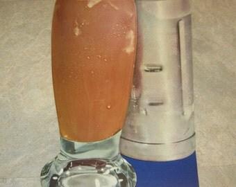 Huge Old 1950's Vintage SODA FOUNTAIN / DINER - Chocolate Malt
