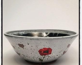 Poppy Serving Bowl