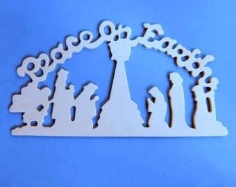 Nativity Silhouette Cutout | New Calendar Template Site
