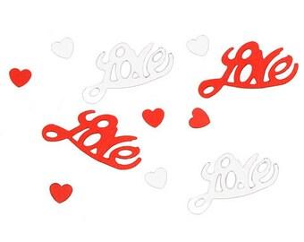 Love and Hearts Confetti
