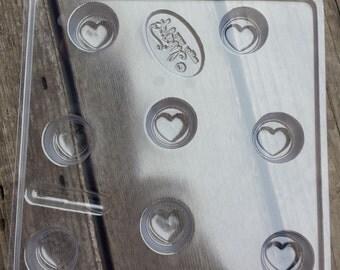 Wax Tart Mold- Heart