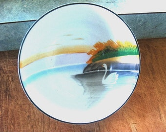 Lovely Vintage Maito Swan Bowl Japan