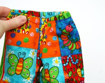 SALE - Fits like American Girl Doll Clothes - Whimsical Colorful Pajama Pants