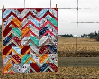 Heirloom Baby Quilt, Blanket, Throw - Winter Spratt