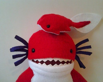 Toys Plush Stuffed Monster Custom Juvenile Freshwater Kraken
