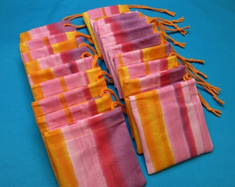 Set of 30 Handmade Hoo Doo Cotton Baggies