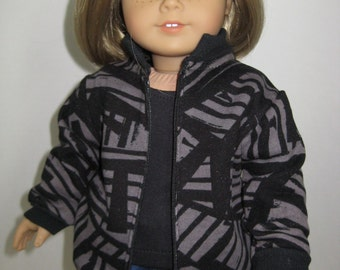 18 Doll Clothes, American Girl,Abstract Sweatshirt