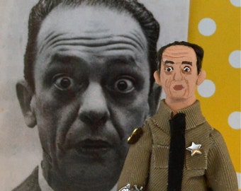 Don Knotts Doll Miniature Art Collectible Historical Actor