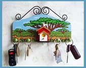 Decorative Wall Key or Jewelry Holder no.1