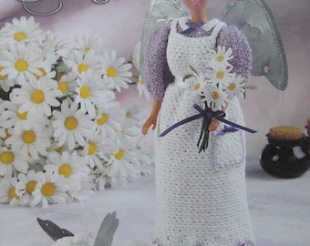 Annies Attic Country Charm Angel Crochet Pattern Book