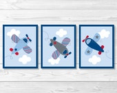 Airplane Nursery Wall Art...