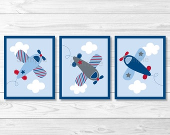 Airplane Nursery Wall Art PRINTABLE Instant Download A337