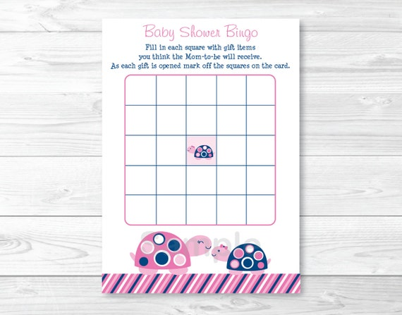 graphic relating to Printable Baby Shower Bingo referred to as Data concerning Mod Red Turtle Mother and Boy or girl Printable Boy or girl Shower Bingo Playing cards