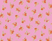 30% OFF Milk, Sugar & Flower Floral Pink - 1/2 Yard