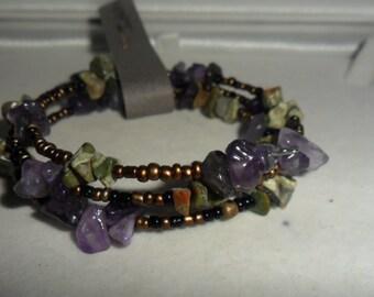 Crystal Healing 'Healthy Intestines'   Bracelet