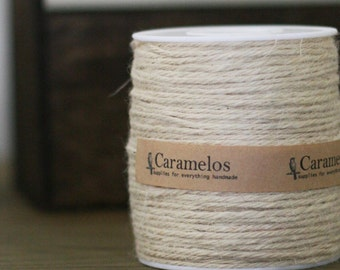 100 yds of Natural Ivory Twine Cord