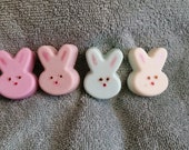 Holiday Soap - Small Bunny Soap Set (4)- Great basket filler!!!