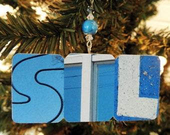 HALF PRICE! STL Blues keepsake/ornament