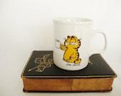 vintage garfield cat tea mug to health and herbal tea jim davis