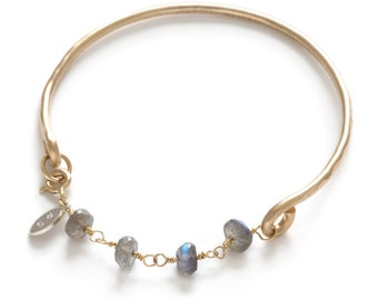 Sterling Silver Moon Bracelet