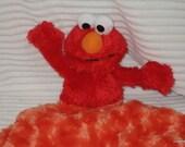 Security Blanket Lovie Baby Blanket, Elmo,  mini Lovems