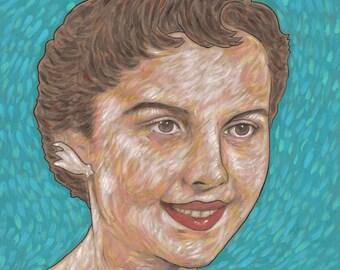 custom portrait painting - commission art