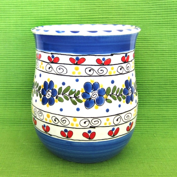 kitchen utensil canister french pantry collection pickle canister utensil crock