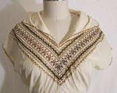 Vintage 1950's Patio Dress Blouse Rockabilly VLV