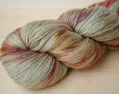 Hand Dyed Sock Yarn - Merino & Silk - Fingering Weight - Gleam - Sydney