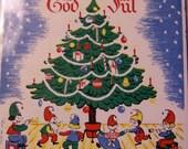 gnome swedish god jul tile
