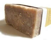 Oatmeal  Exfoliating Soap Scrubby Handmade Vegan Soap, Cold Process, Mens Soaps