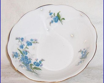 Royal Albert  Forget-Me-Not   Bone China Small Serving Bowl  Made in England