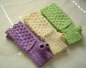 Reserved 4 Candice - 7 Pairs of Rosette Long Fingerless Arm Warmers in Rainbow colors