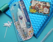 Blue Animals Bees Ducks Bears Deco Correction Tape White Out Kawaii