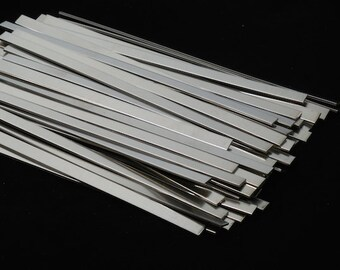 Nickel Silver Cuffs - 16 gauge, stamping blanks, arm bands, metal strips, nickel silver strips, cuff bands, metal stamping blanks, Bopper