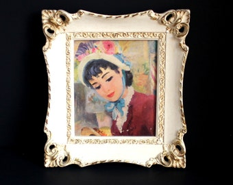 Victorian Lady Framed Picture