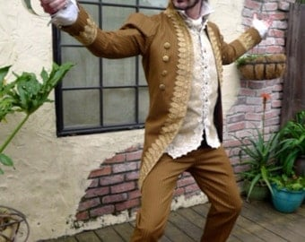 Ivory Lace  Steampunk 18th Century Gentleman and Rogue's Waistcoat