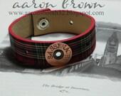Outlander Inspired Reclaimed Belt Bracelet Sassenach