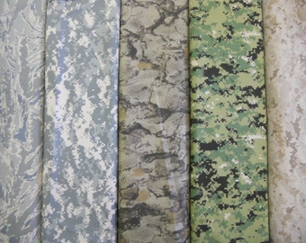 Camouflage 100% NYLON digital fabric air force ACU army marine digitals unal 1yd free ship