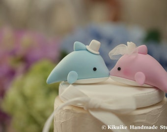 Dolphins Wedding Cake Topper K636