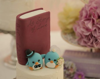 penguins Wedding Cake Topper (K435)
